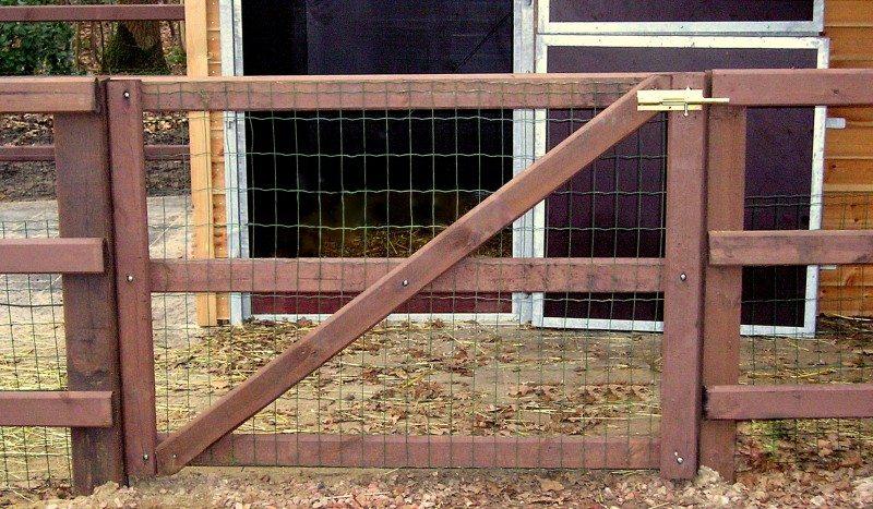 standaard poort