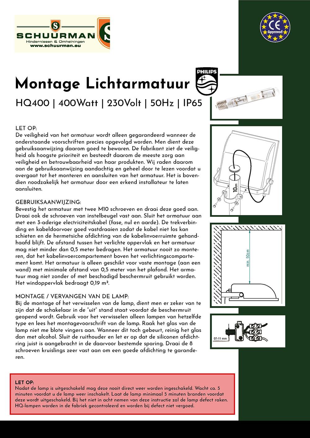 Brochure-montage-lichtarmatuur-hq400-400watt